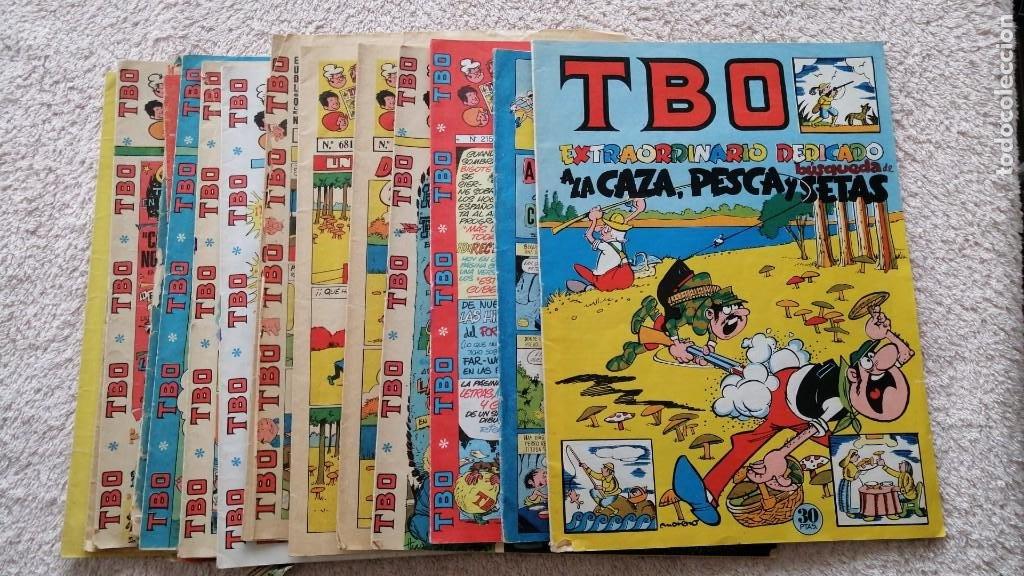 LOTE DE 17 EJEMPLARES TBO REVISTA INFANTIL Y JUVENIL (Tebeos y Comics - Tebeos Otras Editoriales Clásicas)