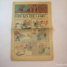 Tebeos: TITO-AÑO 1-NUMERO 1-DIBUJOS BEQCER-TEBEO ANTIGUO-COL COMPLETA-SOLO SALIO UNO-VER FOTOS-(V-22.630). Lote 253152415