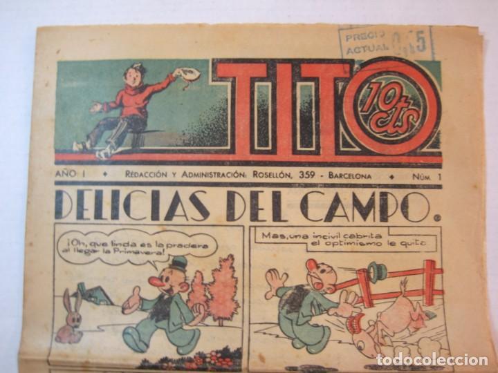 Tebeos: TITO-AÑO 1-NUMERO 1-DIBUJOS BEQCER-TEBEO ANTIGUO-COL COMPLETA-SOLO SALIO UNO-VER FOTOS-(V-22.630) - Foto 3 - 253152415
