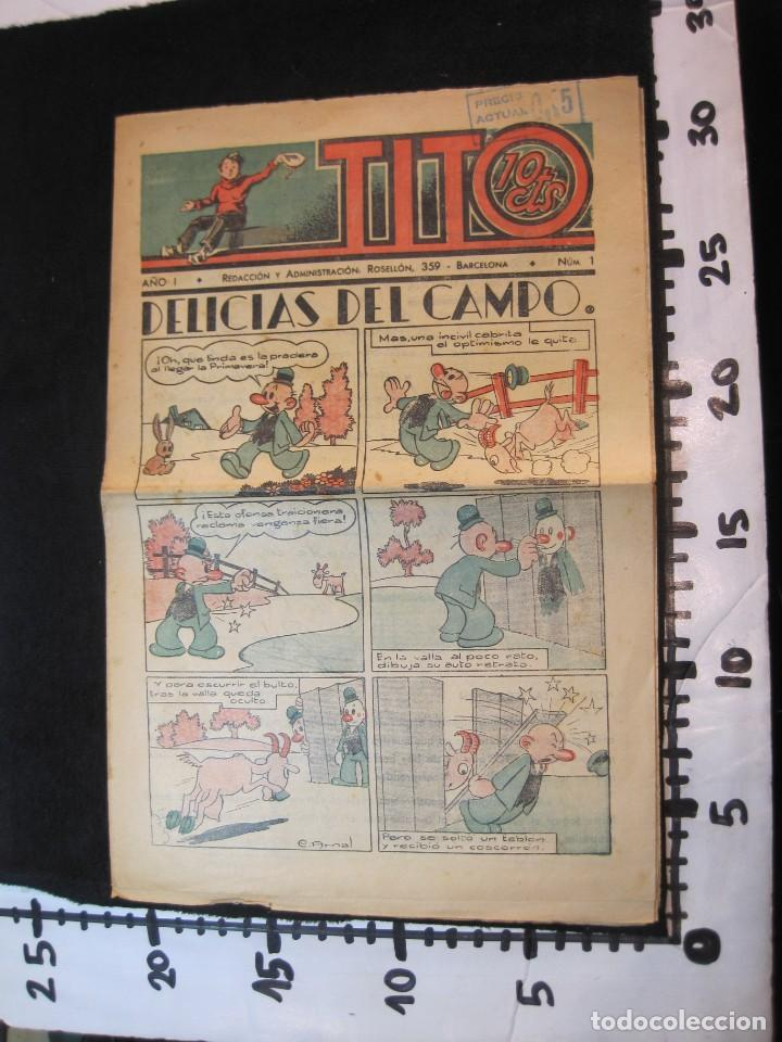 Tebeos: TITO-AÑO 1-NUMERO 1-DIBUJOS BEQCER-TEBEO ANTIGUO-COL COMPLETA-SOLO SALIO UNO-VER FOTOS-(V-22.630) - Foto 17 - 253152415