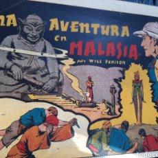 Tebeos: UNA AVENTURA EN LA MALASIA EDITORIAL HISPANO AMERICANA. Lote 253881825