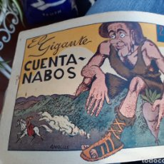 Tebeos: EL GIGANTE CUENTA NABOS EDIT HISPANOAMERICANA. Lote 253882545