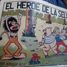 Tebeos: EL HÉROE DE LA SELVA EDIT BRUGUERA,DIBUJANTE BATALLER. Lote 253883005