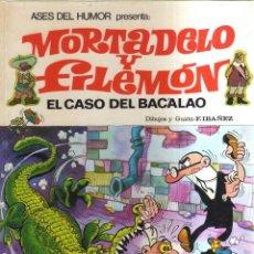 Tebeos: MORTADELO Y FILEMON EL CASO DEL BACALAO N,5. Lote 254188885