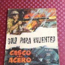 Tebeos: CASCO ACERO Nº 20 SOLO PARA VALIENTES- DIFICIL - EDICIONES MANHATTAN 1961 NOVELA GRAFICA. Lote 254634935