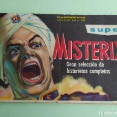 Tebeos: SUPER MISTERIX Nº 523 AÑO 1958 98 PAGINAS MUY DIFICIL - EDITORIAL ABRIL- MUY BUEN ESTADO. Lote 254636160