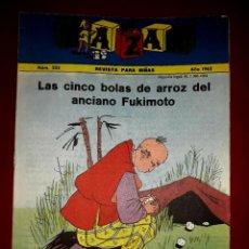 Tebeos: REVISTA BAZAR Nº 223 FALANGE ESPAÑOLA TRADICIONALISTA Y DE LA JONS IBARRA 1962. Lote 255358410