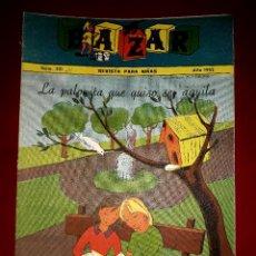 Tebeos: REVISTA BAZAR Nº 221 FALANGE ESPAÑOLA TRADICIONALISTA Y DE LA JONS IBARRA 1962. Lote 255359935