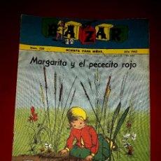 Tebeos: REVISTA BAZAR Nº 220 FALANGE ESPAÑOLA TRADICIONALISTA Y DE LA JONS IBARRA 1962. Lote 255360685