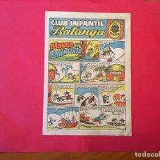 Tebeos: COMIC CLUB INFANTIL CHOCOLATES BATANGA , REVISTA Nº 2. Lote 255503040