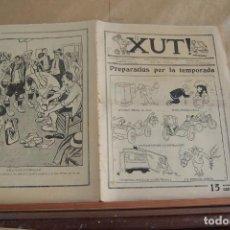 Tebeos: XUT!, Nº 93 DEL 27-8-1924, PERIÓDICO DEPORTIVO EN CATALAN. Lote 256100975