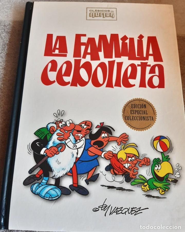 CLÁSICOS DEL HUMOR - ESPECIAL COLECCIONISTAS - RBA 2009 - LA FAMILIA CEBOLLETA (Tebeos y Comics - Tebeos Otras Editoriales Clásicas)