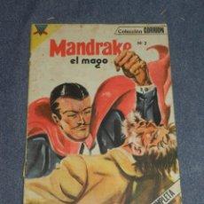 Tebeos: (M1) MANDRAKE EL MAGO N.2 COLECCIÓN GORRION, EDT EDMAL., SEÑALES DE USO. Lote 257778075