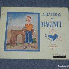 Tebeos: (M1) TARRAGONA RADIO AVENTURAS DE MAGINET EDC. RADIO TARRAGONA 1941 ILUSTRADO V. CASTANYS,18 PAG. Lote 257780560