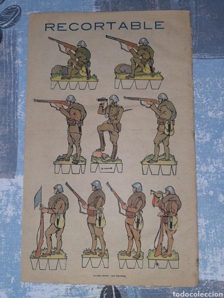 Tebeos: Flechas y Pelayos n. 11, con recortable de soldados - Foto 2 - 286242863
