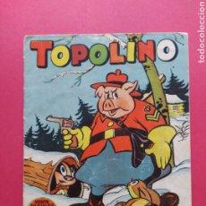 Tebeos: TOPOLINO EN EL CANADÁ - EXCLUSIVAS GERPLA - IMPRENTA PULCRA. Lote 260760825
