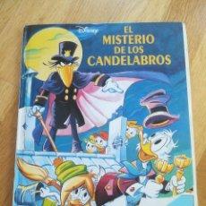 Tebeos: EL MISTERIO DE LOS CANDELABROS DISNEY EN DIBUJOS ANIMADOS - EDICIONES BEASCOA - 1994. Lote 68741729