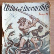 Giornalini: ULTUS EL INVENCIBLE (EL REY DE LA SELVA) TOMO IV. AUGUSTO DELMAR 1936. Lote 262855515