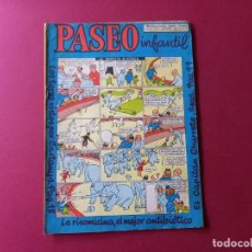 Tebeos: PASEO INFANTIL Nº 5 ED.GENERALES 1956. Lote 263156425