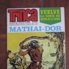 Tebeos: TRINCA NÚMERO 49. MATHAI-DOR, VICTOR DE LA FUENTE. MANOS KELLY, PALACIOS EDITORIAL DONCEL. Lote 263176060