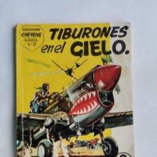 Tebeos: TIBURONES EN EL CIELO COLECCIÓN CHEYENE GUERRA N° 2. Lote 263214795