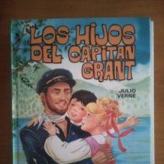 """Tebeos: LIBRO DE JULIO VERNE. """" LOS HIJOS DEL CAPITÁN GRANT """". EDICIONES GARZA S.A. PRIMERA EDICIÓN 1984.. Lote 265121789"""