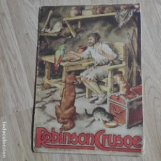Tebeos: ANTIGUO CUENTO DE ROBINSON CRUSOE, SERIE CUMBRE VOL. 1 EDITORIAL ROMA BARCELONA. Lote 265391334