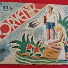 BDs: PORVENIR REVISTA INFANTIL Nº 2 1937 GUERRA CIVIL ORIGINAL T4. Lote 265540389