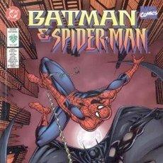 Tebeos: BATMAN SPIDERMAN -- EDITORIAL VID DC 1998 -- TOMO UNICO. Lote 266596023