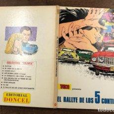 BDs: EL RALLYE DE LOS 5 CONTINENTES. COLECCION TRINCA. Nº 11. EDITORIAL DONCEL, 1970. Lote 266857784
