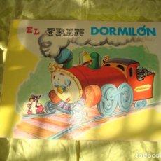 Tebeos: EL TREN DORMILON. EDT. CULTURA Y PROGRESO. SERIE SONRISA, 1975. Lote 267102849
