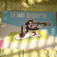 Tebeos: LA ISLA DESIERTA. EDT. CULTURA Y PROGRESO. SERIE SONRISA, 1975. Lote 267102909