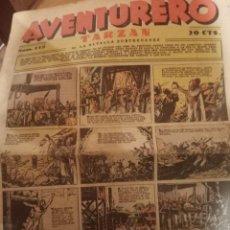 Tebeos: TEBEO AVENTURERO 1937. Lote 267126099