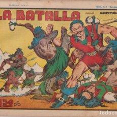 BDs: EL CAPITÁN CORAJE 1ª Nº 18. TORAY 1946 (21X32) (MÁRGENES BLANCOS CON SU ANCHURA NORMAL, NO VISIBLES. Lote 267223544