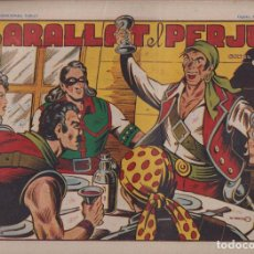 BDs: EL CAPITÁN CORAJE 1ª Nº 23. TORAY 1946 (21X32) (MÁRGENES BLANCOS CON SU ANCHURA NORMAL, NO VISIBLES. Lote 267223574