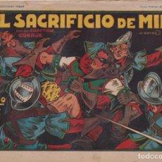BDs: EL CAPITÁN CORAJE 1ª Nº 28. TORAY 1946 (21X32) (MÁRGENES BLANCOS CON SU ANCHURA NORMAL, NO VISIBLES. Lote 267223599