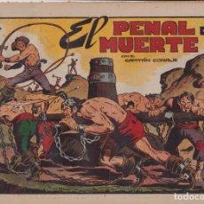BDs: EL CAPITÁN CORAJE 1ª Nº 33. TORAY 1946 (21X32) (MÁRGENES BLANCOS CON SU ANCHURA NORMAL, NO VISIBLES. Lote 267223619