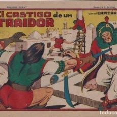 BDs: EL CAPITÁN CORAJE 1ª Nº 16. TORAY 1946 (21X32) (MÁRGENES BLANCOS CON SU ANCHURA NORMAL, NO VISIBLES. Lote 267223664