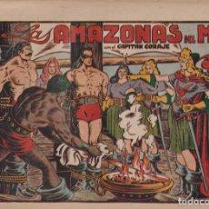 BDs: EL CAPITÁN CORAJE 1ª Nº 35. TORAY 1946 (21X32) (MÁRGENES BLANCOS CON SU ANCHURA NORMAL, NO VISIBLES. Lote 267223759