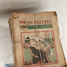Tebeos: GRAN LOTE REVISTAS DE 1938,EN PATUFET!. Lote 268772019