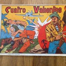 Tebeos: CUATRO VALIENTES - COLECCION PELICANO - ORIGINAL - MUY DIFICIL - GCH. Lote 269082513