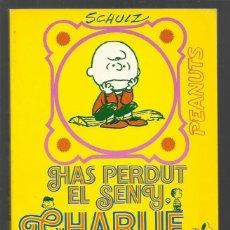 Tebeos: CHARLIE BROWN 15: HAS PERDUT EL SENY, CHARLIE BROWN, 1974, EDICIÓNS 62, BUEN ESTADO. Lote 269084228
