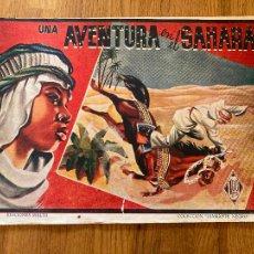 Tebeos: UNA AVENTURA EN EL SAHARA - COLECCION DIAMANTE NEGRO / EDICIONES RIALTO - ORIGINAL - DIFICIL - GCH. Lote 269194848