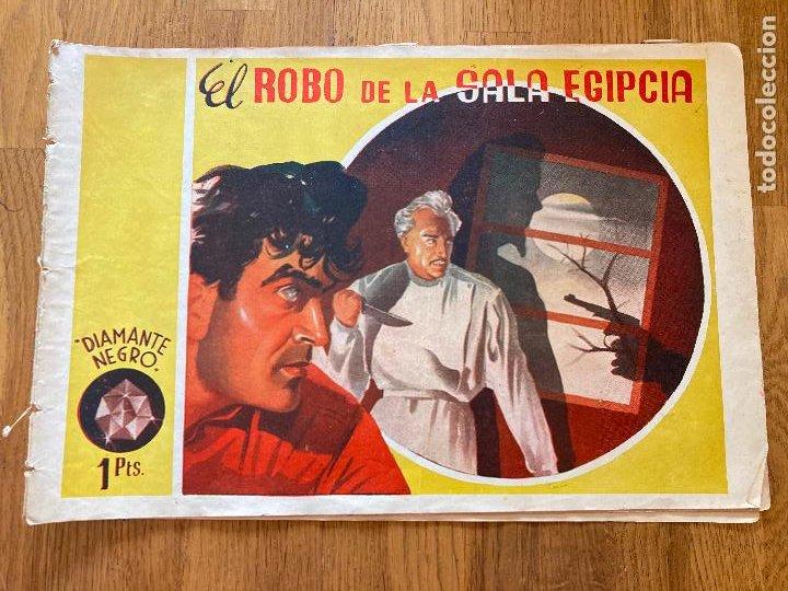 JIM EL INVENCIBLE / EL ROBO DE LA SALA EGIPCIA - DIAMANTE NEGRO - ORIGINAL - MUY DIFICIL - GCH (Tebeos y Comics - Tebeos Otras Editoriales Clásicas)