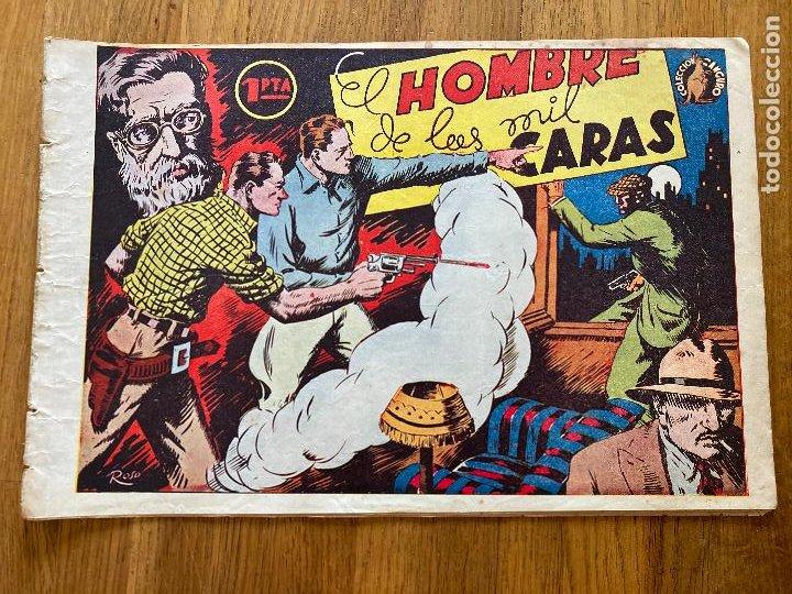 EL HOMBRE DE LAS MIL CARAS - COLECCION CANGURO - 1 PTA - ORIGINAL - MUY DIFICIL - GCH (Tebeos y Comics - Tebeos Otras Editoriales Clásicas)