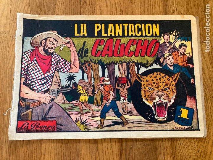 LA PLANTACION DE CAUCHO - 1 PTA - EDICIONES RIALTO - ORIGINAL - DIFICIL - GCH (Tebeos y Comics - Tebeos Otras Editoriales Clásicas)