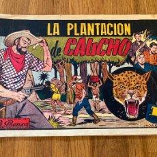 Tebeos: LA PLANTACION DE CAUCHO - 1 PTA - EDICIONES RIALTO - ORIGINAL - DIFICIL - GCH. Lote 269199858