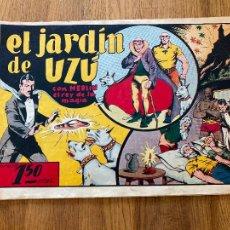 Tebeos: MERLIN EL REY DE LA MAGIA / EL JARDIN DE UZÚ - HISPANO AMERICANA - ORIGINAL - DIFICIL - GCH. Lote 269205738