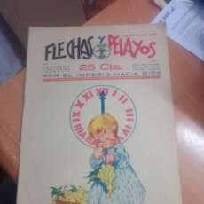 Livros de Banda Desenhada: FLECHAS Y PELAYOS Nº 4 CON RECORTABLE. Lote 269467538