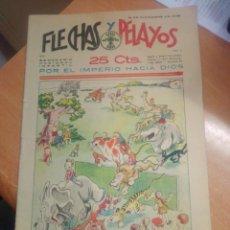 Livros de Banda Desenhada: FLECHAS Y PELAYOS Nº 2 CON RECORTABLE. Lote 269467863